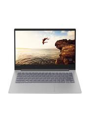 Lenovo 530S, 14 inch FHD Display, Intel Core i7-8550U 8th Gen 1.8GHz, 512GB SSD, 8GB RAM, 2GB NVIDIA Graphics, EN-AR Keyboard with Bluetooth/Fingerprint, Win 10, 81EU00PKAX, Grey