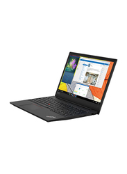 Lenovo Edge E590, 15.6 inch HD Display, Intel Core i5-8265U 8th Gen 1.6GHz, 1TB HDD, 4GB RAM, Intel HD Graphics, EN-AR Keyboard with Bluetooth/Fingerprint, DOS, 20NB004RAD, Black