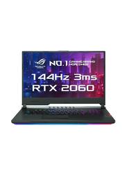 Asus ROG G731GV, 17.3 inch FHD Display -144HZ, Intel Core i7 9750 H 9th Gen 2.6GHz, 1TB HDD + 256GB SSD, 16GB RAM, 6GB NVIDIA RTX2060 Graphics, EN-AR KB with Bluetooth, Win 10, EV073T, Black