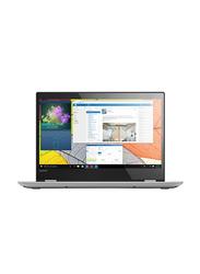 Lenovo Yoga 520, 14.0 inch HD Touch Flip Display, Intel Core i3-7020U 7th Gen 2.3GHz, 1TB HDD, 4GB RAM, Intel HD Graphics, EN-AR Keyboard with Bluetooth, Win 10, 81C800NUAX, Grey