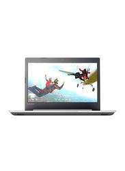 Lenovo Ideapad 320, 15.6 inch HD Display, Intel Core i3 8130U 8th Gen 2.2GHz, 2TB HDD, 4GB RAM, Intel HD Graphics, EN-AR Keyboard with Bluetooth, Win 10, 81BG00R6AX, Black