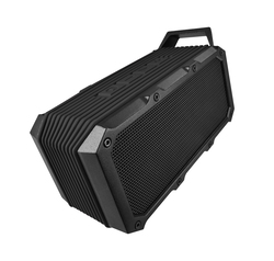 DIVOOM Voombox-ongo Portable Ultra Rugged and Water Resistant Bluetooth 4.0 Wireless Bicycle Speaker with Speakerphone, Black