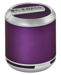 Divoom Bluetune Solo Portable Speakers, X-BASS, Bluetooth, Purple