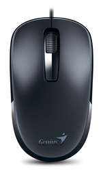 Genius DX125 Optical Mouse, Black