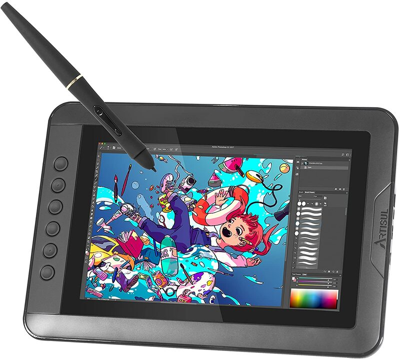 Artisul D10 S 10.1-Inch LCD Graphics Tablet, Black