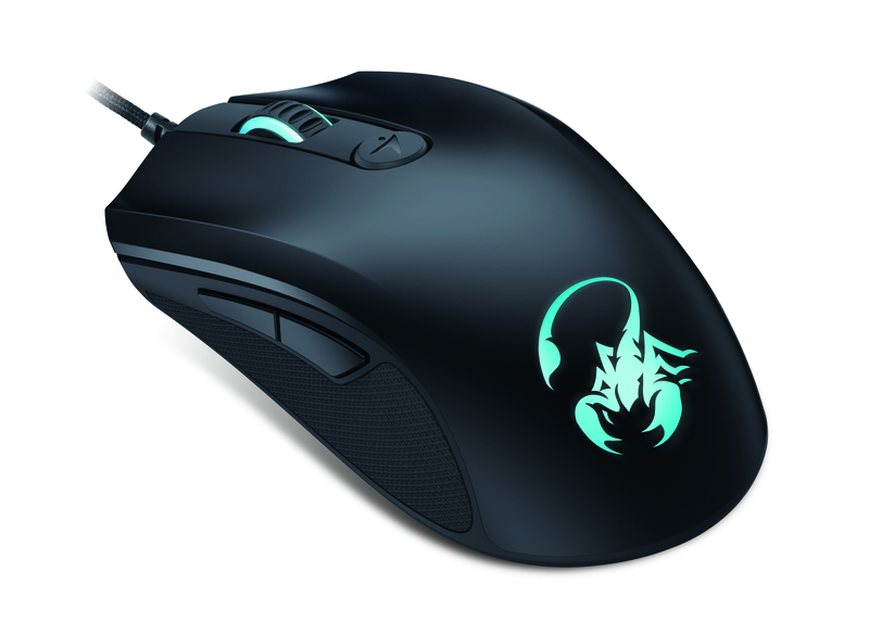 Genius M8-610 Scorpion Laser Mouse, Black