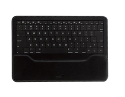Genius Luxepad Ultra-Thin Keyboard with Built-In Battery For Ipad, Black