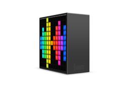 Divoom Lifestyle Speaker TimeBox intelligent Musical Smart Clock Bluetooth for Mobile Phones, Black