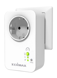 Edimax SP-2101W Smart Plug Switch with Power Meter Intelligent Home Energy Management, 13A, White