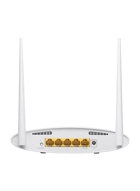 Edimax N300 5-in-1 Broadband Router (UK PSU) EDBR-6428NSV3-UK, White