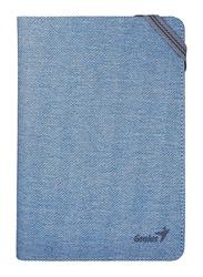 Genius Tablet/iPad/E-Book 8-inch Universal Folio Case, GS-850, Blue