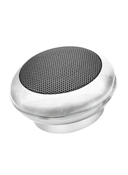 Divoom iTour Pop Portable Rechargeable 360-Degree Sound Speaker, White