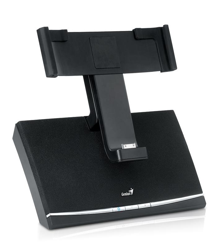 Genius SP-i600 iPad Docking Speaker System, Black