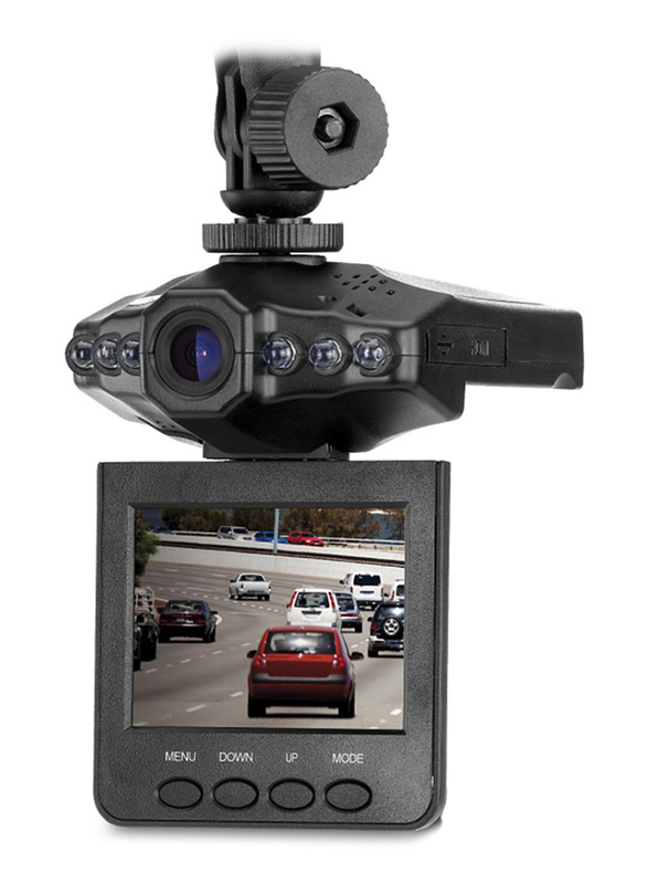 Genius DVR-HD560 120 Degree HD Vehicle Recorder with 5 MP, Black
