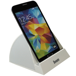 Divoom iFit-3 Docking Speaker - Compatible with Smart Phones Including iPhone, iPod and iPad, White