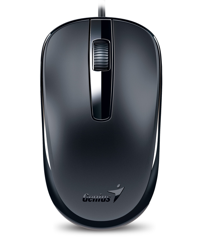 Genius DX120 Optical Mouse, Black