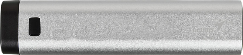 Genius 2600mAh Eco-U267 Powerbank Universal Portable Battery, Silver