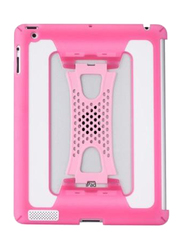 Lafeada Apple iPad 1/2/3 Tactile Shell Tablet Case Cover, Pink