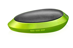 Divoom itour-wow Portable Speaker 5 W, FM Radio, 3.5 mm, USB/SD), Green
