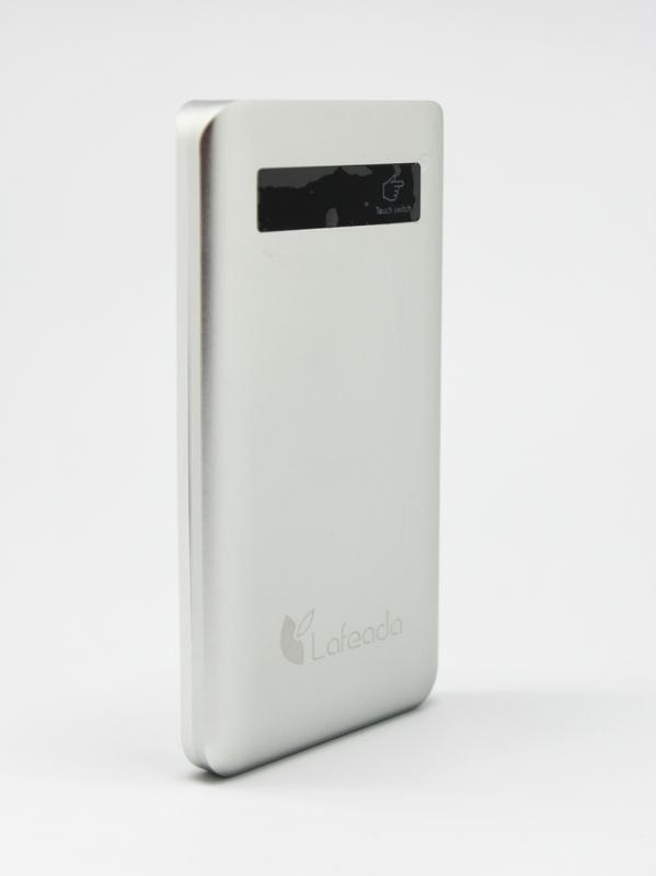 Lafeada 6000mAh Safari-6000 Lite Powerbank Universal Power Pack, Silver