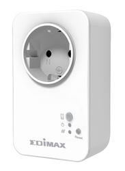 Edimax SP-1101W-UK Smart Plug Switch Intelligent Home Control (UK-PSU), 15A, White