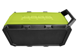 DIVOOM Voombox-ongo Portable Ultra Rugged and Water Resistant Bluetooth 4.0 Wireless Bicycle Speaker with Speakerphone, Green
