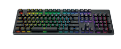 Genius GX Scorpion K10 Smart Gaming Keyboard, Mechanical Feel, RGB Backlight With App to customise Keys and Macros, Black