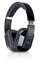 Genius HS-970BT Over Ear Wireless Headset, Black