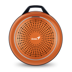Genius Speaker Sp-906Bt Plus 10 Hours Play Time For Mobile Devices, Flame Orange