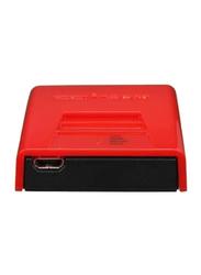 Edimax EDBR-6258N-UK 150Mbps Wireless Broadband Nano Router (EU+UK/E.EU), Red