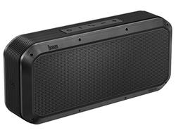 Divoom Voombox Party Portable Water Resistant Bluetooth 4.0 Wireless Speaker, Black