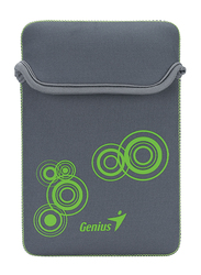 Genius Tablet PC/iPad Mini/iPad 8-inch Polyester Waterproof Sleeve Bag, GS-801, Grey/Green