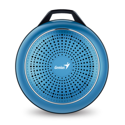 Genius Speaker Sp-906Bt Plus 10 Hours Play Time For Mobile Devices, Blue