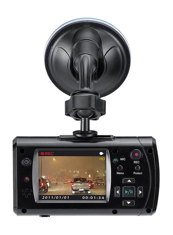 Genius DVR-HD550 105 Degree HD Vehicle Recorder, Black