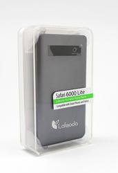 Lafeada 6000mAh Safari-6000 Lite Powerbank Universal Power Pack, Black