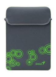 Genius Tablet PC/iPad Mini/iPad 10-inch Polyester Waterproof Sleeve Bag, GS-1001, Grey/Green