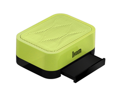 Divoom iFit-1 Docking Speaker - Compatible with Smart Phones Including iPhone, iPod and iPad, Green