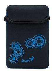 Genius Tablet PC/iPad Mini/iPad 8-inch Polyester Waterproof Sleeve Bag, GS-801, Black/Blue