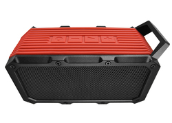 DIVOOM Voombox-ongo Portable Ultra Rugged and Water Resistant Bluetooth 4.0 Wireless Bicycle Speaker with Speakerphone, Red