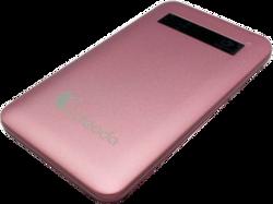 Lafeada 4500mAh Safari-4500 Powerbank Universal Power Pack, Pink