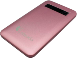 Lafeada 4500mAh Safari-4500 Powerbank Universal Power Pack, Pink