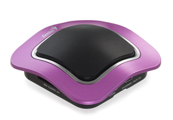 Genius SP-i400 Magnetic Portable Music Player Speaker, Purple