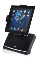 Genius SP-i600 iPad Docking Speaker System, Black