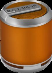 Divoom Bluetune Solo Portable Speakers, X-BASS, Bluetooth, Orange