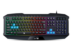 Genius GX Scorpion K215 Wired Keyboard for PC, Black