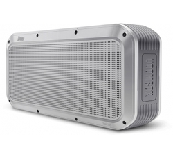 Divoom Voombox Party Portable Water Resistant Bluetooth 4.0 Wireless Speaker, Silver