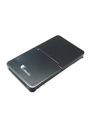 Lafeada Slim Traveler Micro Stand with Sim Card Storage for Smart Phone/Tablet PC, Black