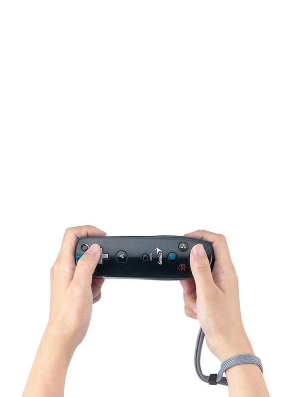 Genius Wizard Stick Motion Gaming Joystick for PC Games, Black