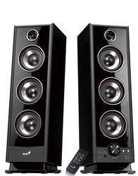 Genius Speaker Sp-Hf2020 Uk 100-240V, Black