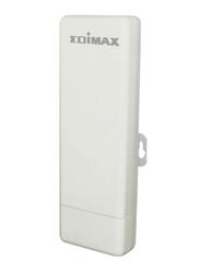 Edimax N150 High Power Outdoor Wireless Access Point/Range Extender with Built-in 12dBi Antenna, EW-7303HPNV2, White